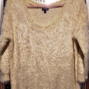 Apt 9 EUC fuzzy sweater.